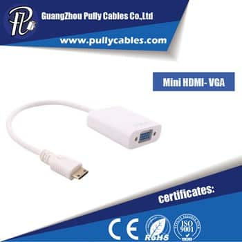 MINI HDMI  TO VGA ADAPTER CABLE