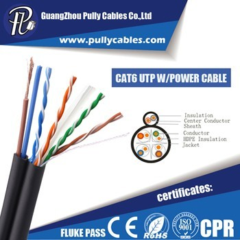 CAT6UTP WITH POWER CABLE