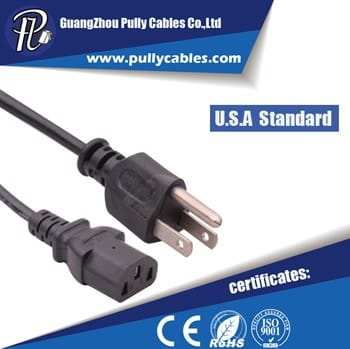 U.S .A STANDARD POWER CABLE