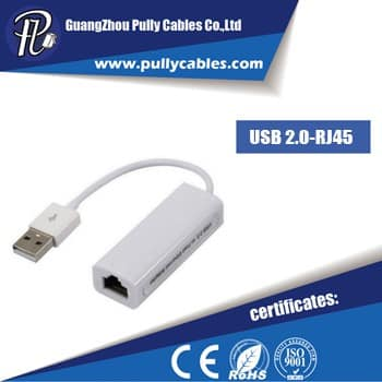 USB 2.0 TO RJ45 ADAPTER CABLE